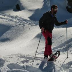 Balades en raquettes à neige dans les Pyrénées